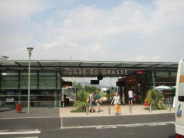 The smart new station at Grasse
