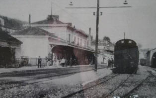 Grasse station before WWI