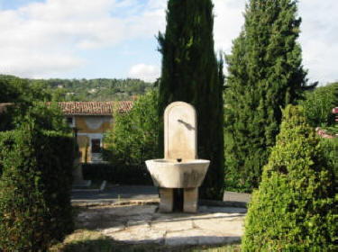 The village fountain