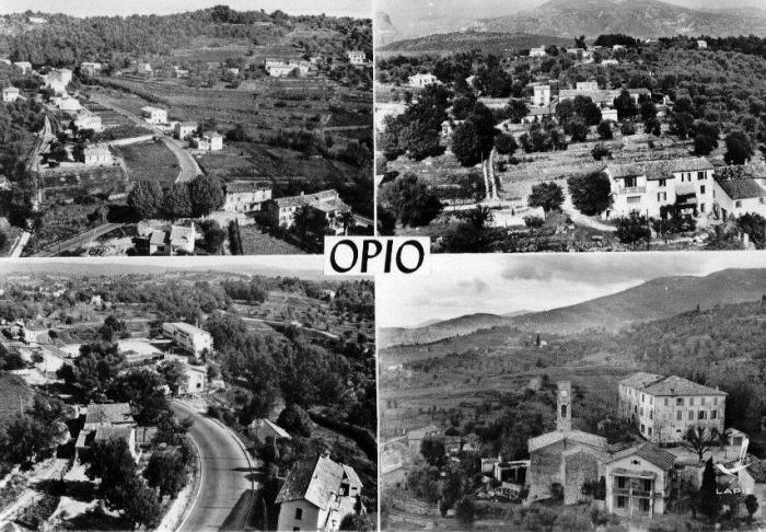 Aerial photo's of Opio and surroundings