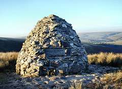 Cairn above Simonsbath, Exmoor National Park