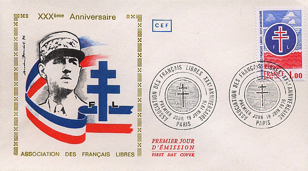 First Day Cover to mark 30 years of the A.F.L.