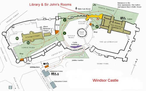 Plan of Windsor Castle