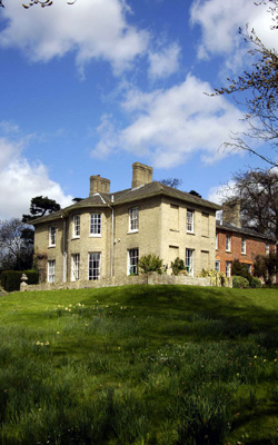 The Old Rectory at Gt. Bealings where Winifred was born in 1888