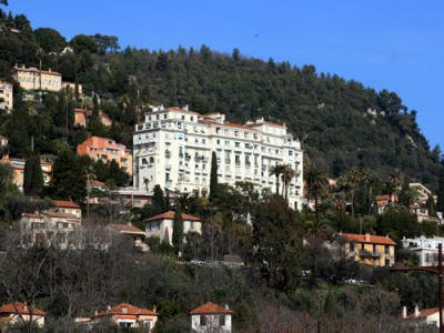 The former Grand Hotel Grasse