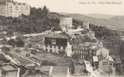 Early postcard view of Grasse