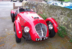 The Healey Silverstone that visited  Opio in 'Laughter in Provence'