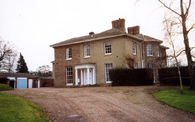 The Old Rectory at Gt. Bealings in Suffolk