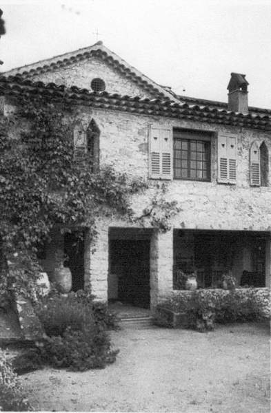 Domaine De Fort Escu,  'Sunset House', in the 1930's