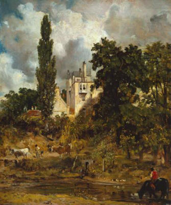 Admiral's House, Hampstead - Constable 1821 - 22