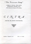 Cintra advert for the Treasure House